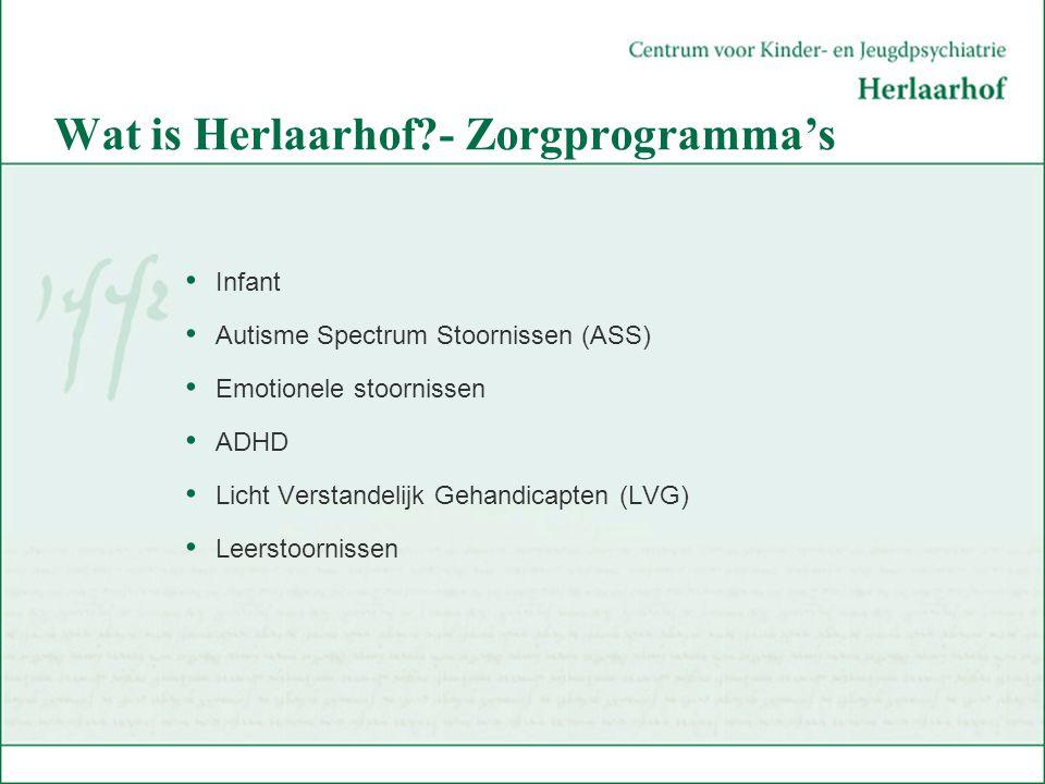 Wat is Herlaarhof - Zorgprogramma's