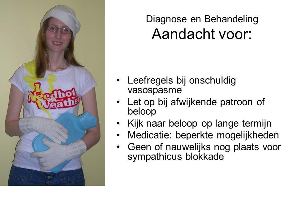 Diagnose en Behandeling Aandacht voor: