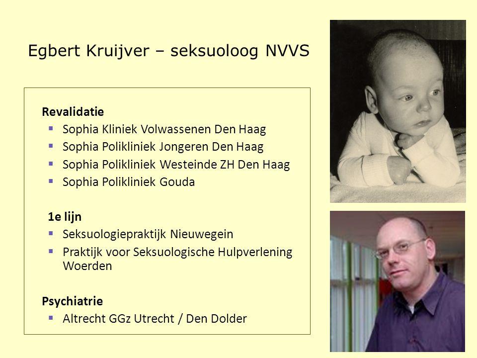 Egbert Kruijver – seksuoloog NVVS