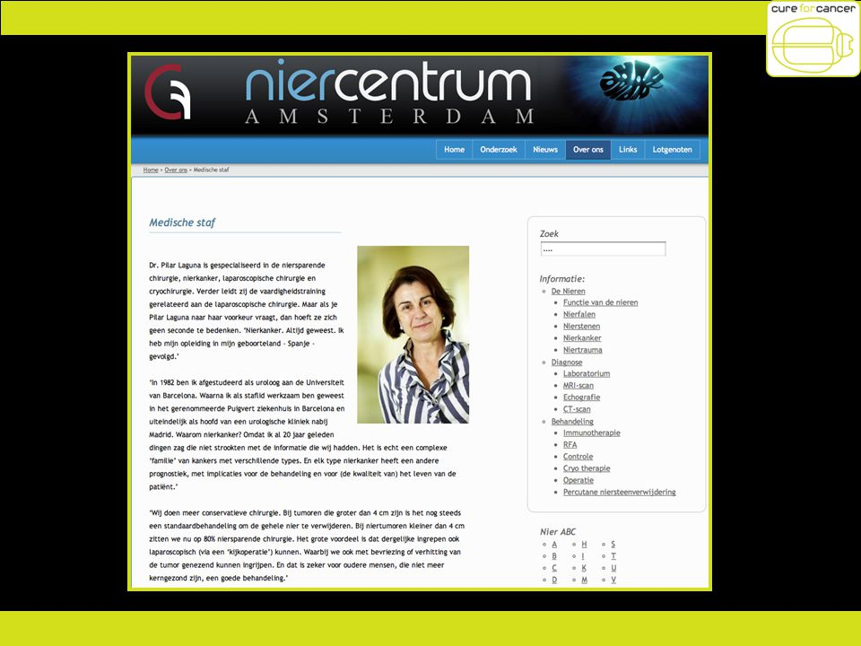 Project : Niercentrum