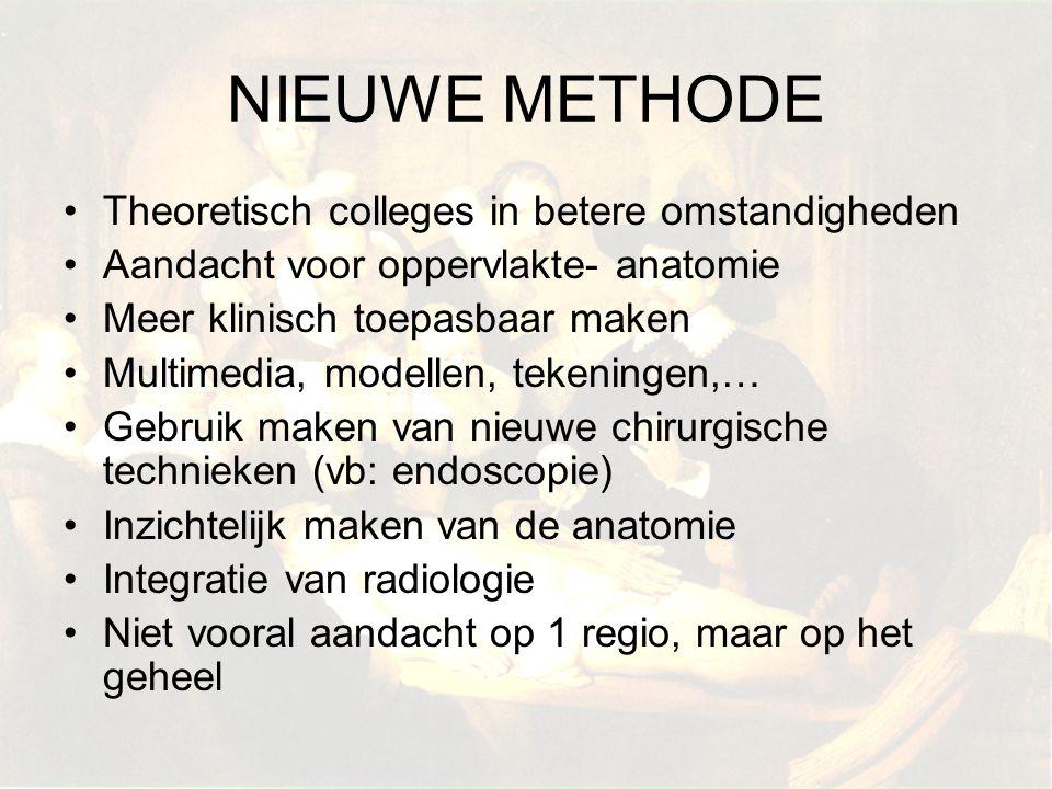 NIEUWE METHODE Theoretisch colleges in betere omstandigheden
