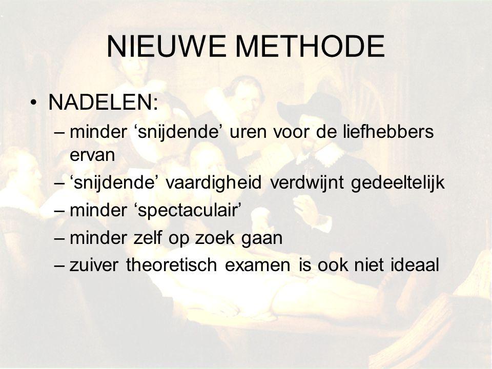 NIEUWE METHODE NADELEN: