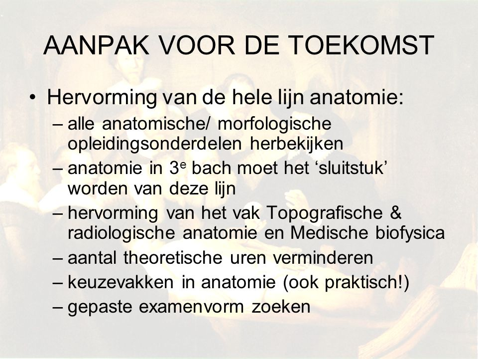 AANPAK VOOR DE TOEKOMST