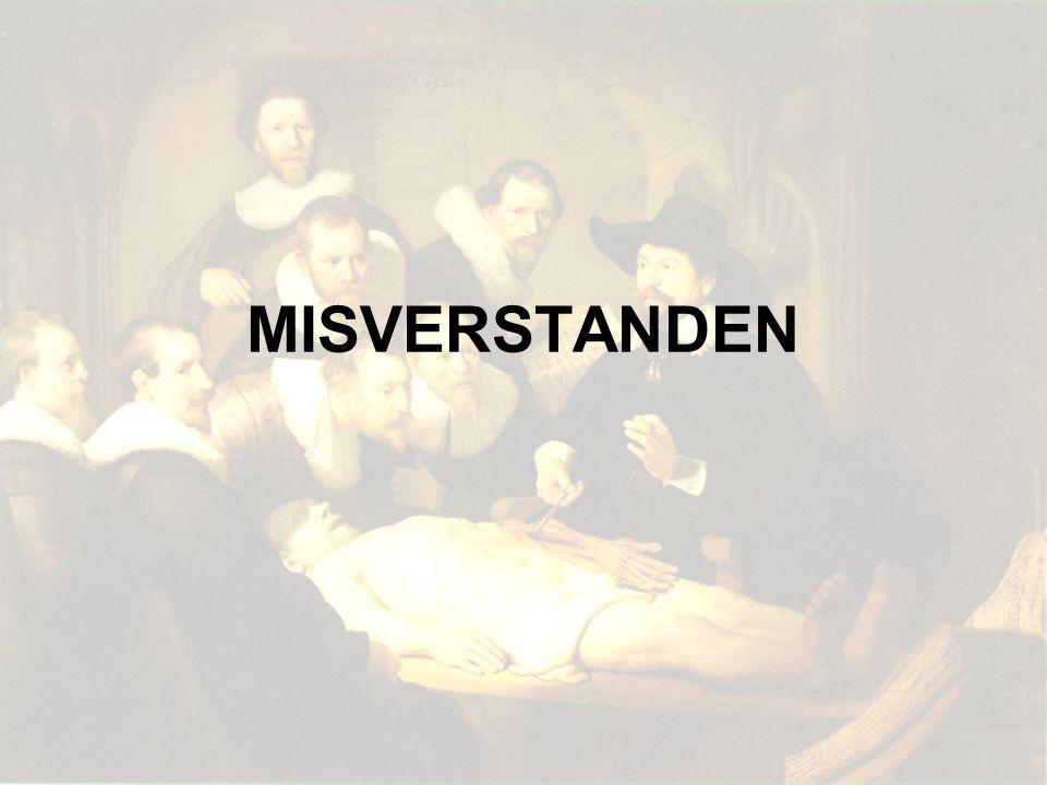 MISVERSTANDEN