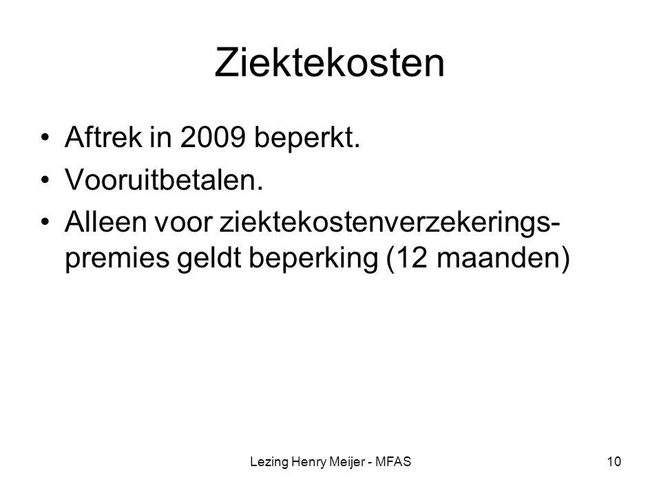 Lezing Henry Meijer - MFAS