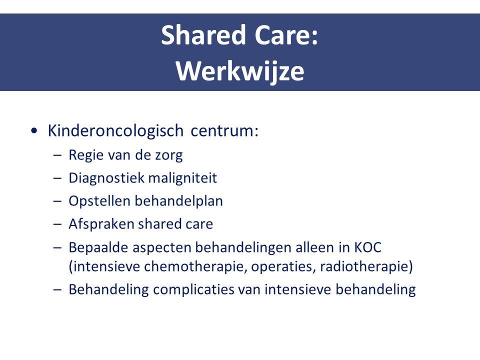 Shared Care: Werkwijze