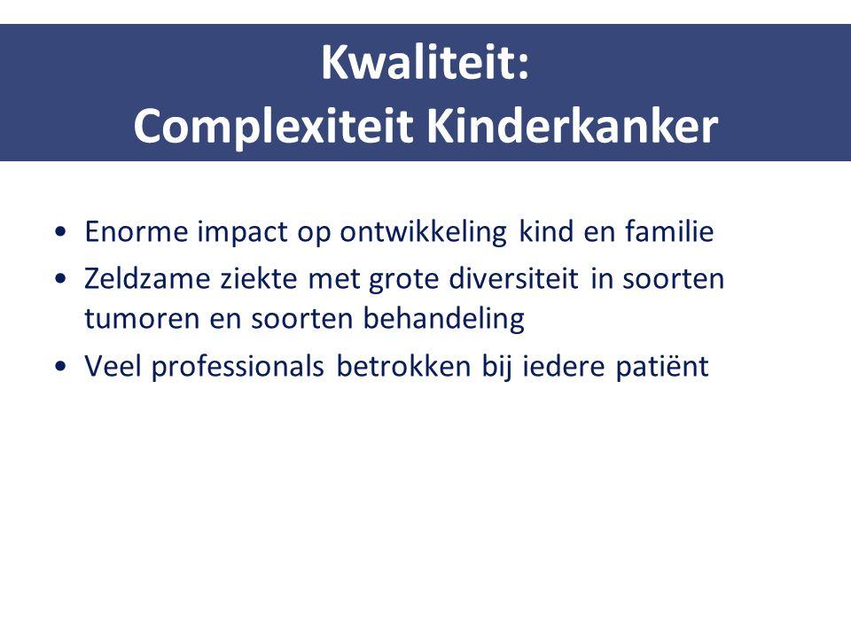 Complexiteit Kinderkanker