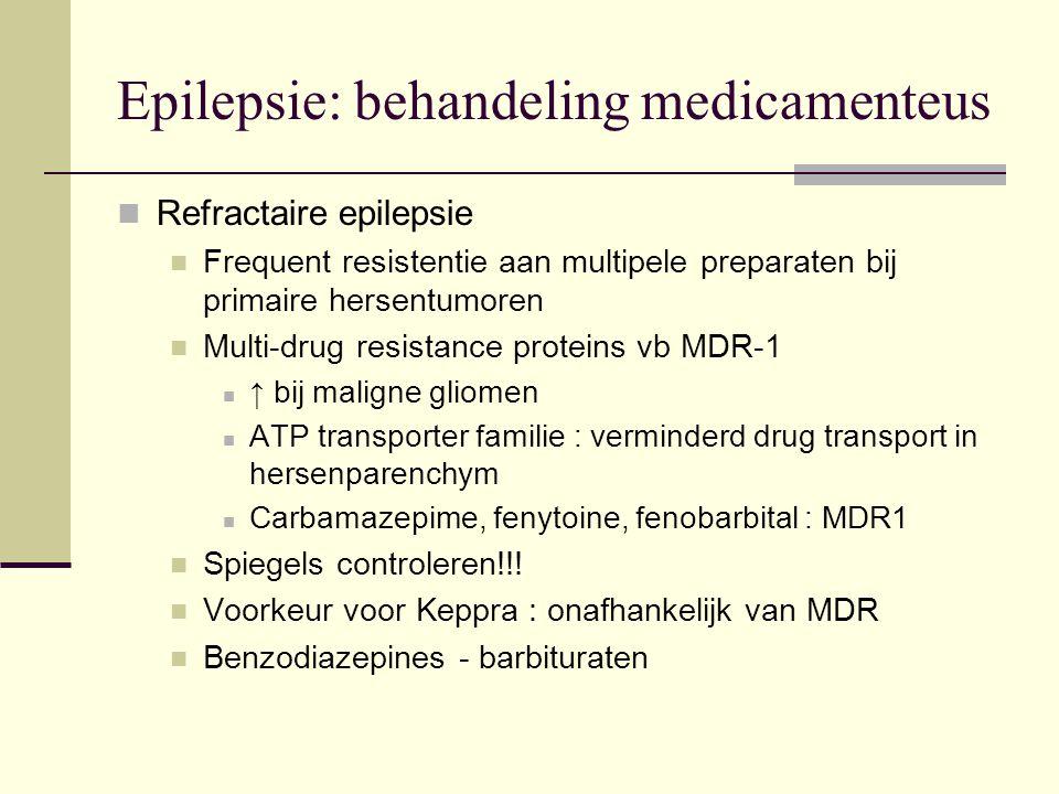 Epilepsie: behandeling medicamenteus