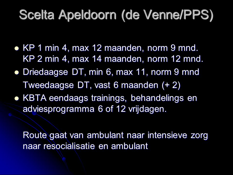 Scelta Apeldoorn (de Venne/PPS)