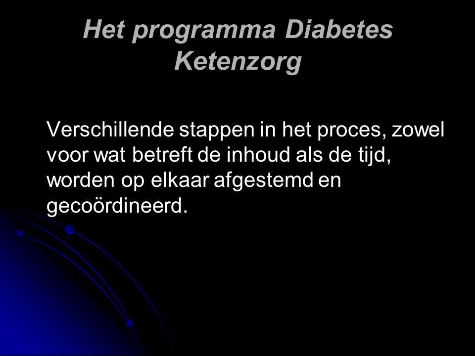 Het programma Diabetes Ketenzorg