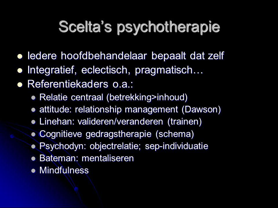 Scelta's psychotherapie
