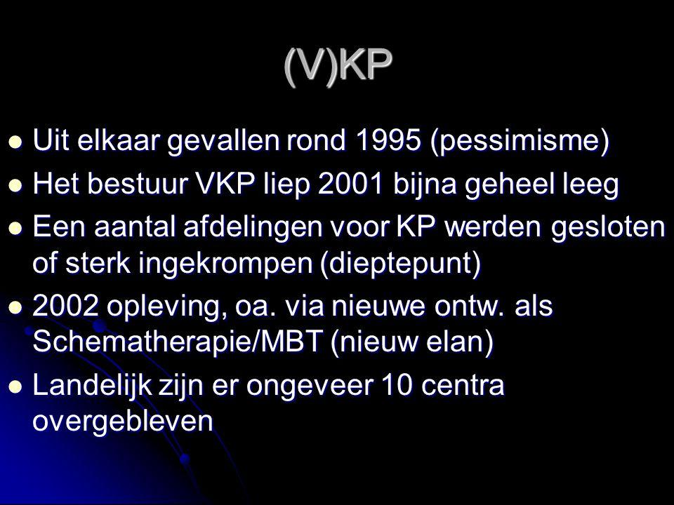 (V)KP Uit elkaar gevallen rond 1995 (pessimisme)