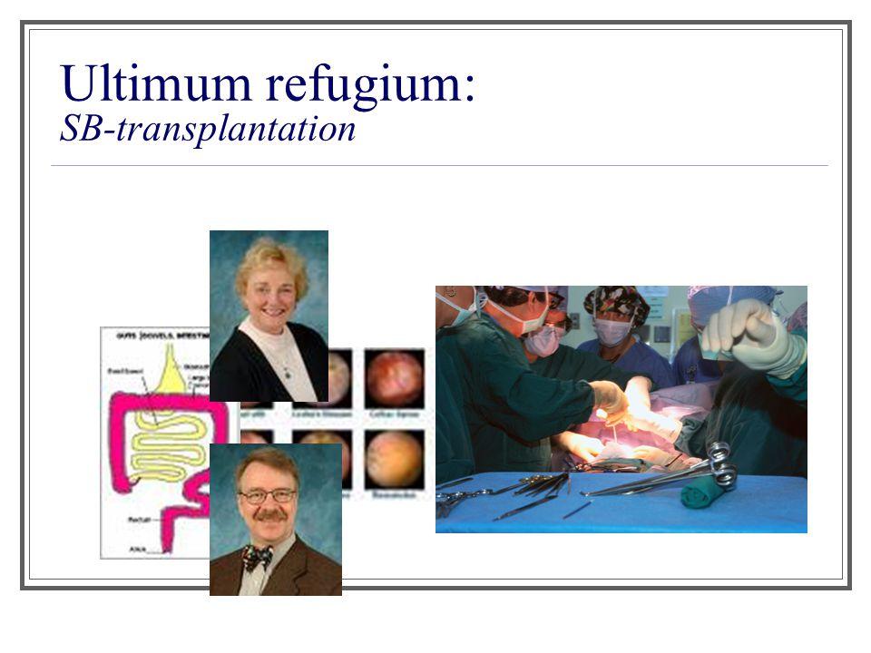 Ultimum refugium: SB-transplantation