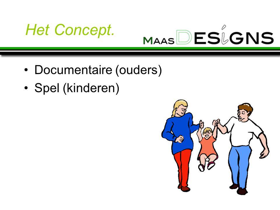 Het Concept. Documentaire (ouders) Spel (kinderen)