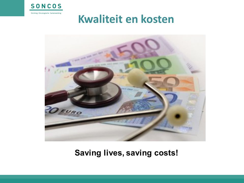 Saving lives, saving costs!