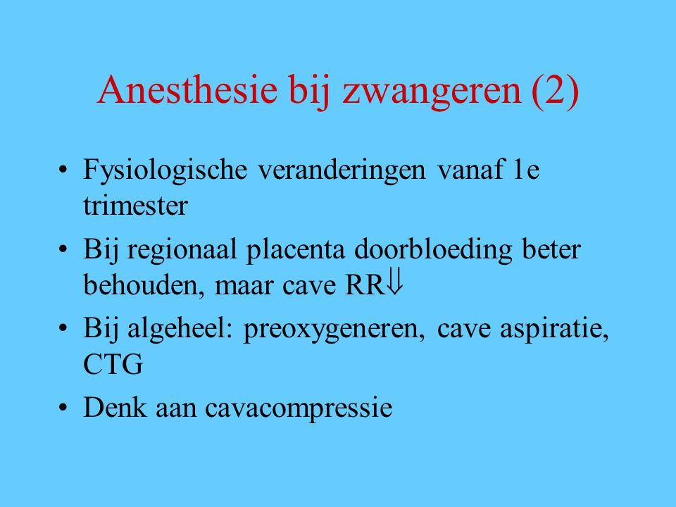 Anesthesie bij zwangeren (2)