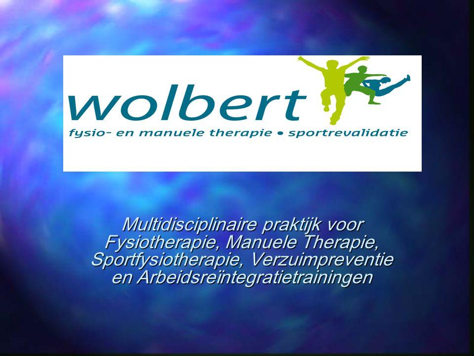 Multidisciplinaire praktijk voor Fysiotherapie, Manuele Therapie, Sportfysiotherapie, Verzuimpreventie en Arbeidsreïntegratietrainingen
