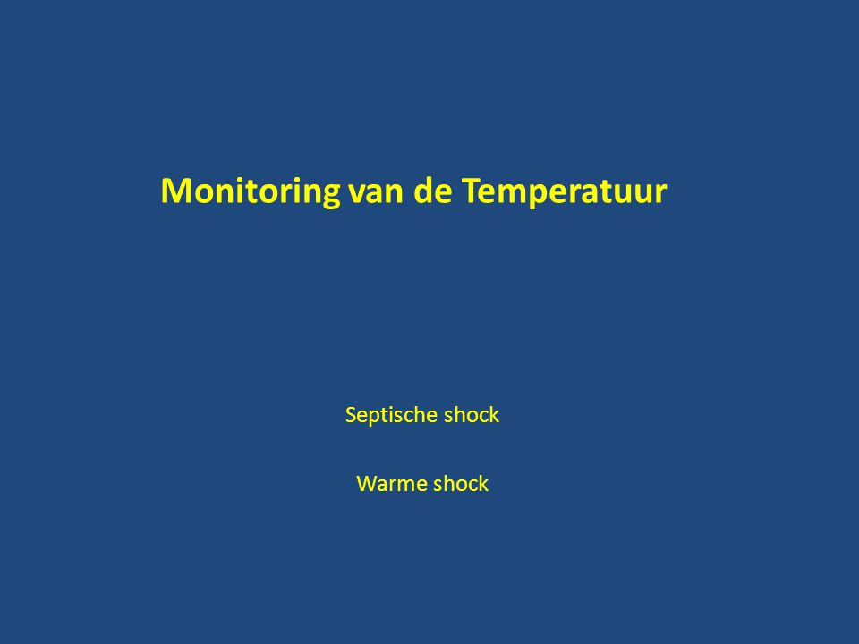 Monitoring van de Temperatuur