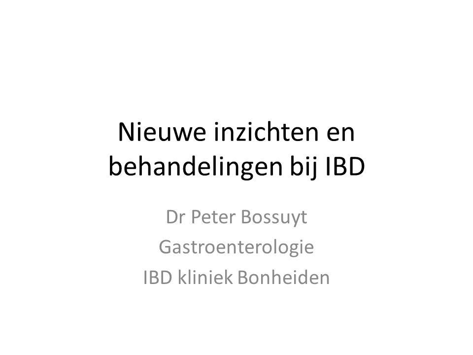 Nieuwe inzichten en behandelingen bij IBD