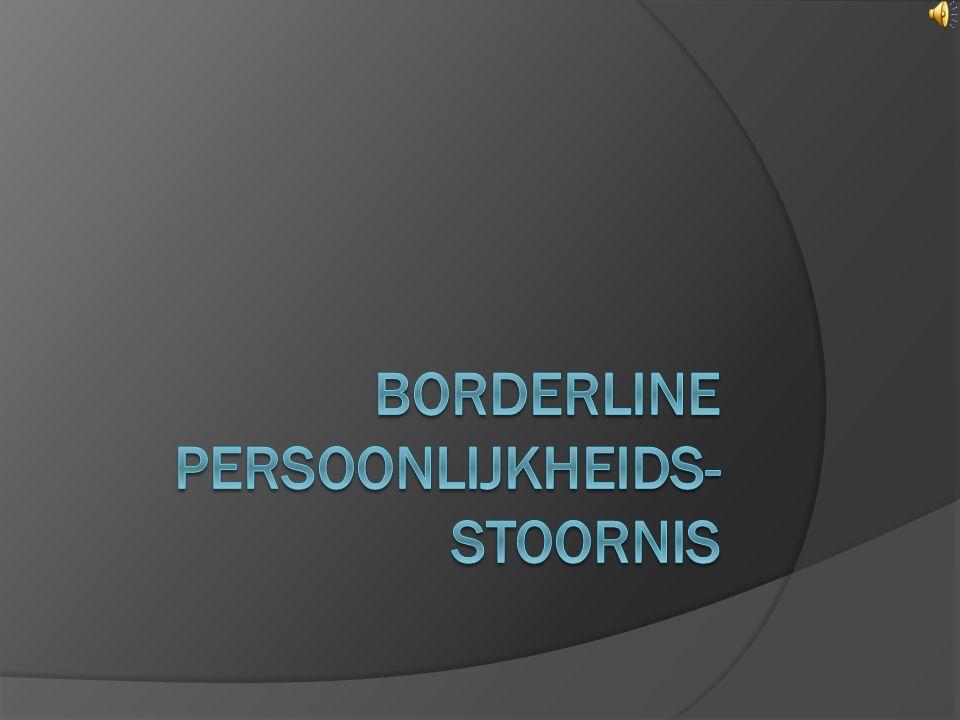 Borderline persoonlijkheids-stoornis
