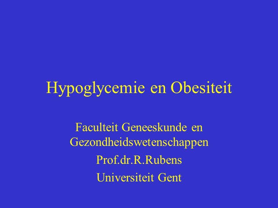 Hypoglycemie en Obesiteit