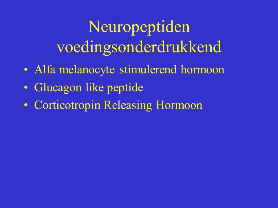 Neuropeptiden voedingsonderdrukkend