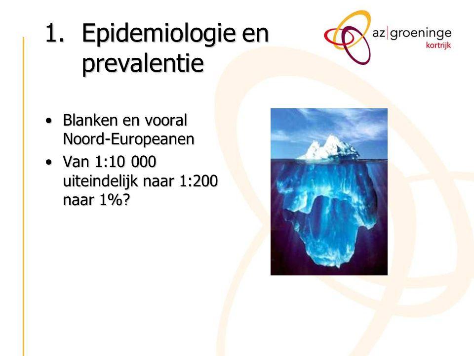 Epidemiologie en prevalentie