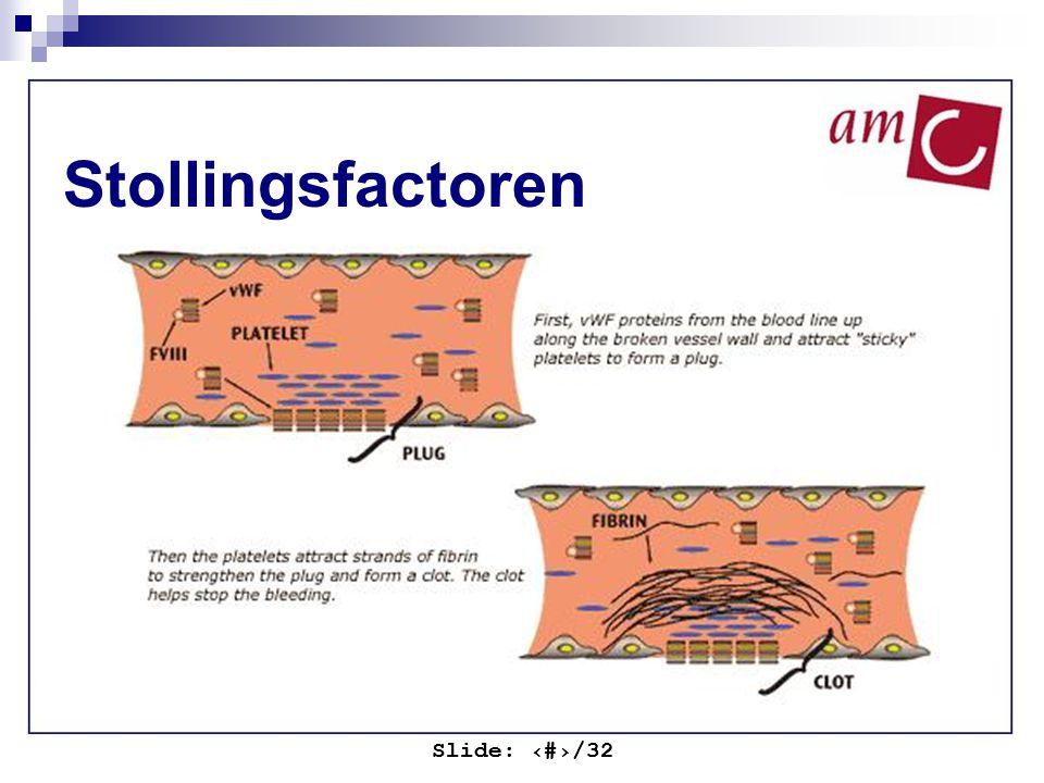 Stollingsfactoren