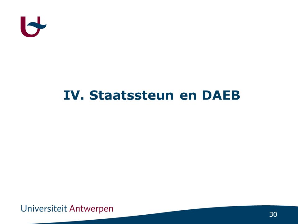 Staatssteun en DAEB: een drietrapsredenering