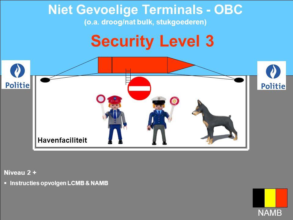 Niet Gevoelige Terminals - OBC (o.a. droog/nat bulk, stukgoederen)