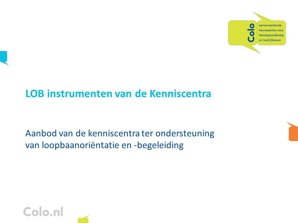 LOB instrumenten van de Kenniscentra