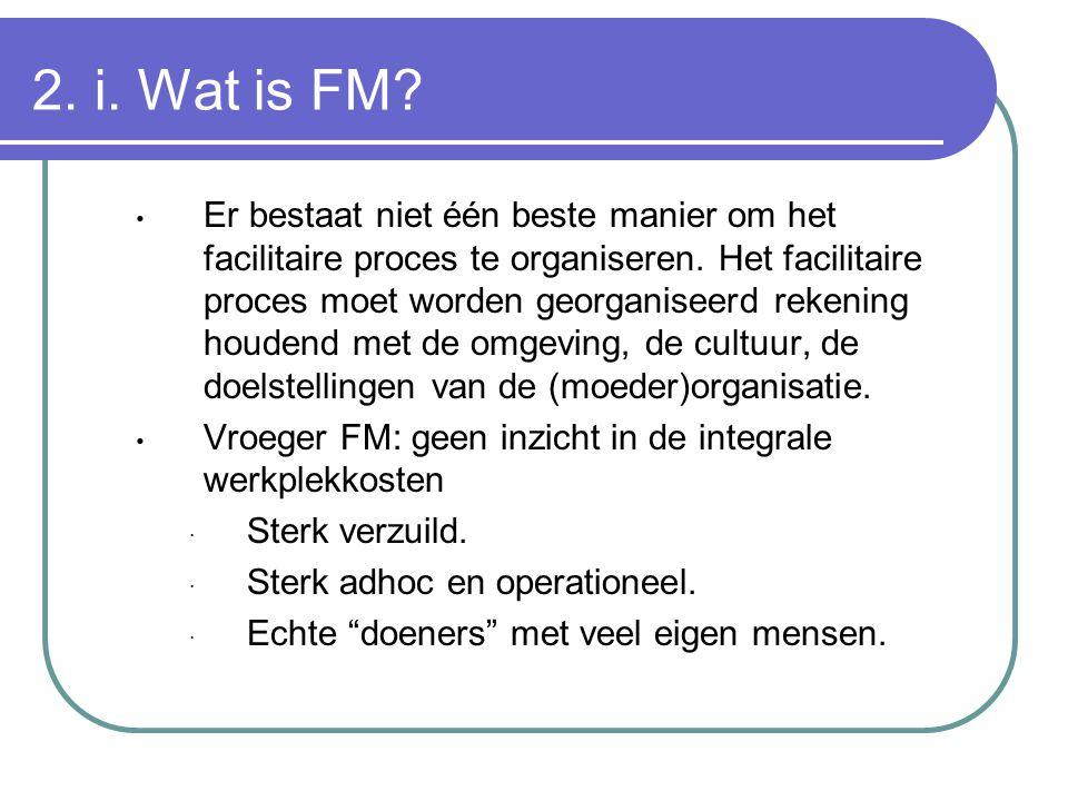 2. i. Wat is FM