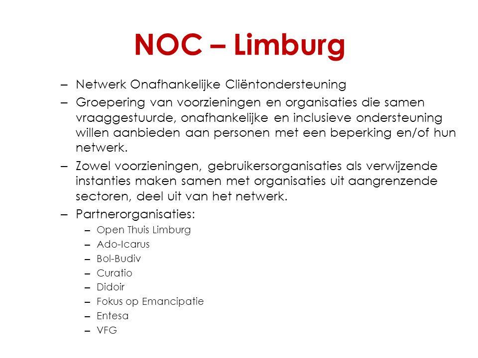 NOC – Limburg Netwerk Onafhankelijke Cliëntondersteuning