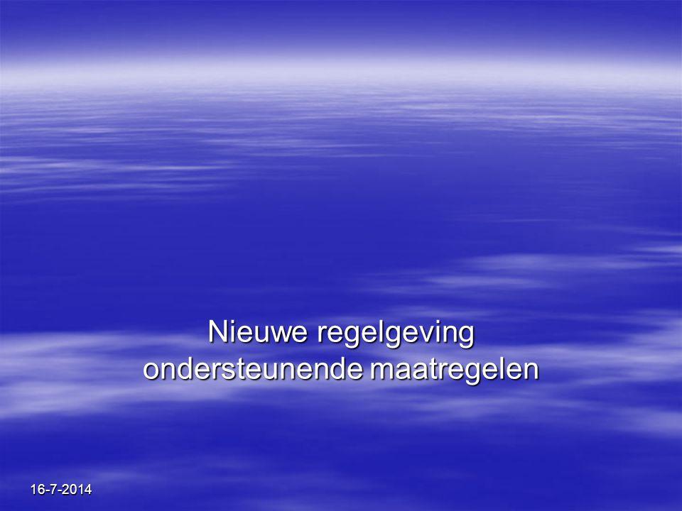 BuSO De Kouter Kortrijk Nieuwe regelgeving ondersteunende maatregelen