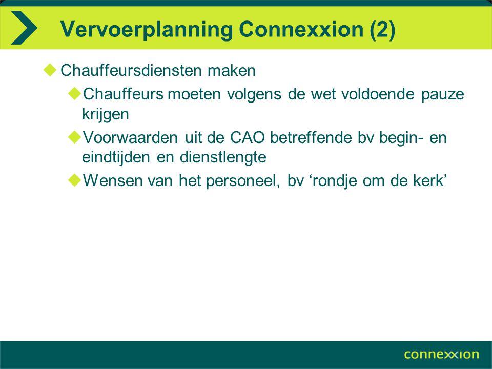 Vervoerplanning Connexxion (2)