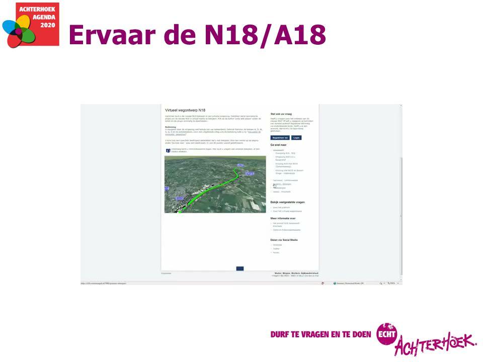 Ervaar de N18/A18