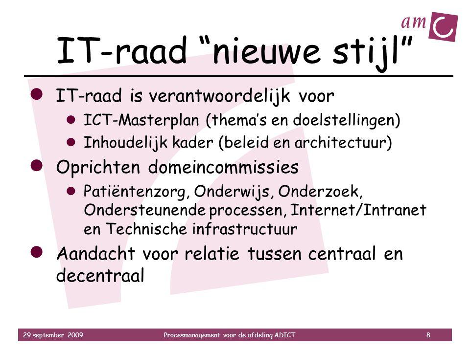 IT-raad nieuwe stijl