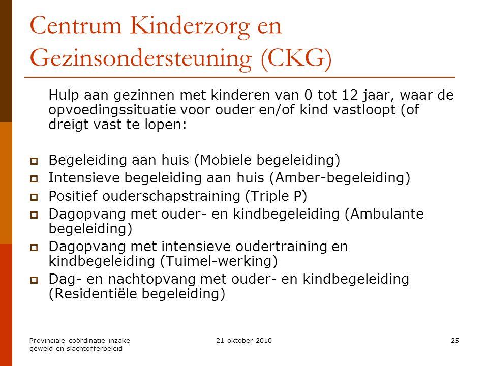 Centrum Kinderzorg en Gezinsondersteuning (CKG)