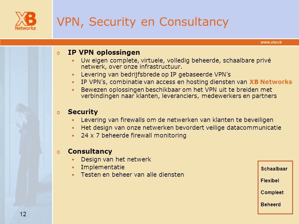 VPN, Security en Consultancy