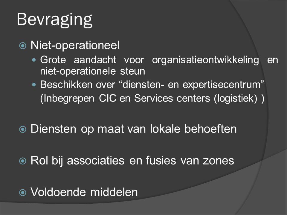 Bevraging Niet-operationeel Diensten op maat van lokale behoeften