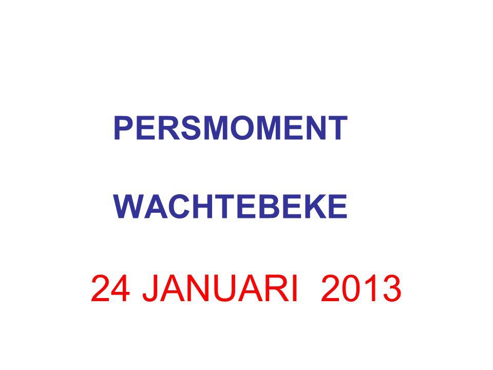 PERSMOMENT WACHTEBEKE