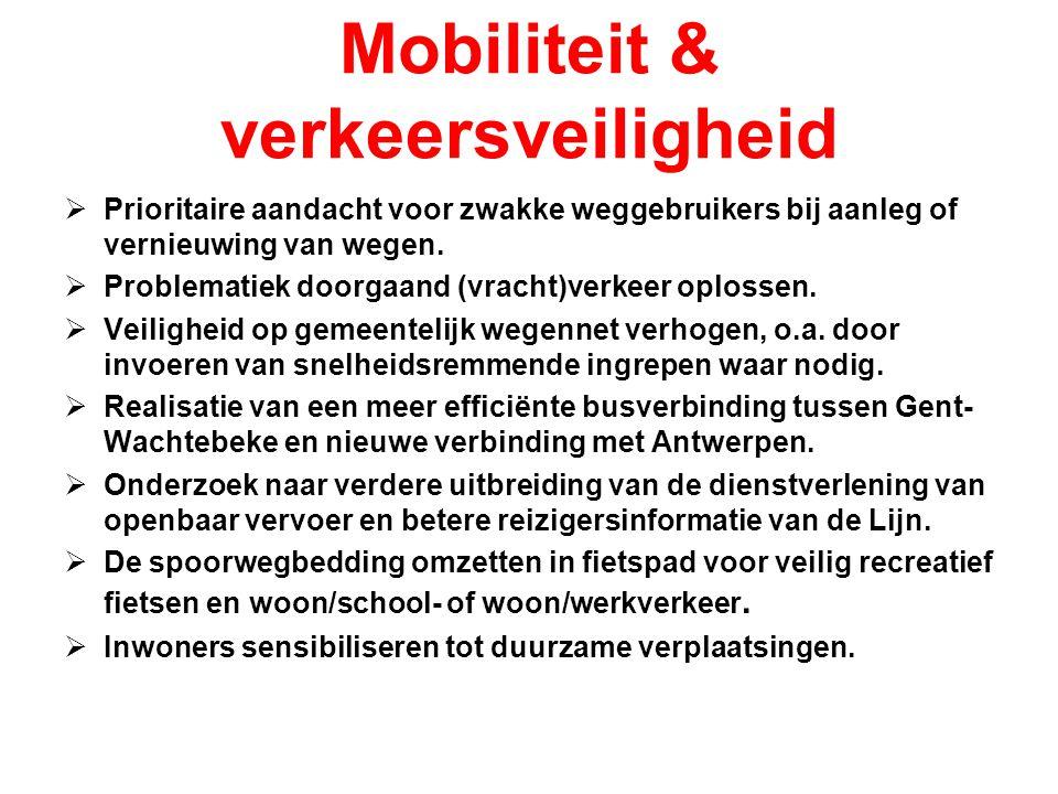 Mobiliteit & verkeersveiligheid