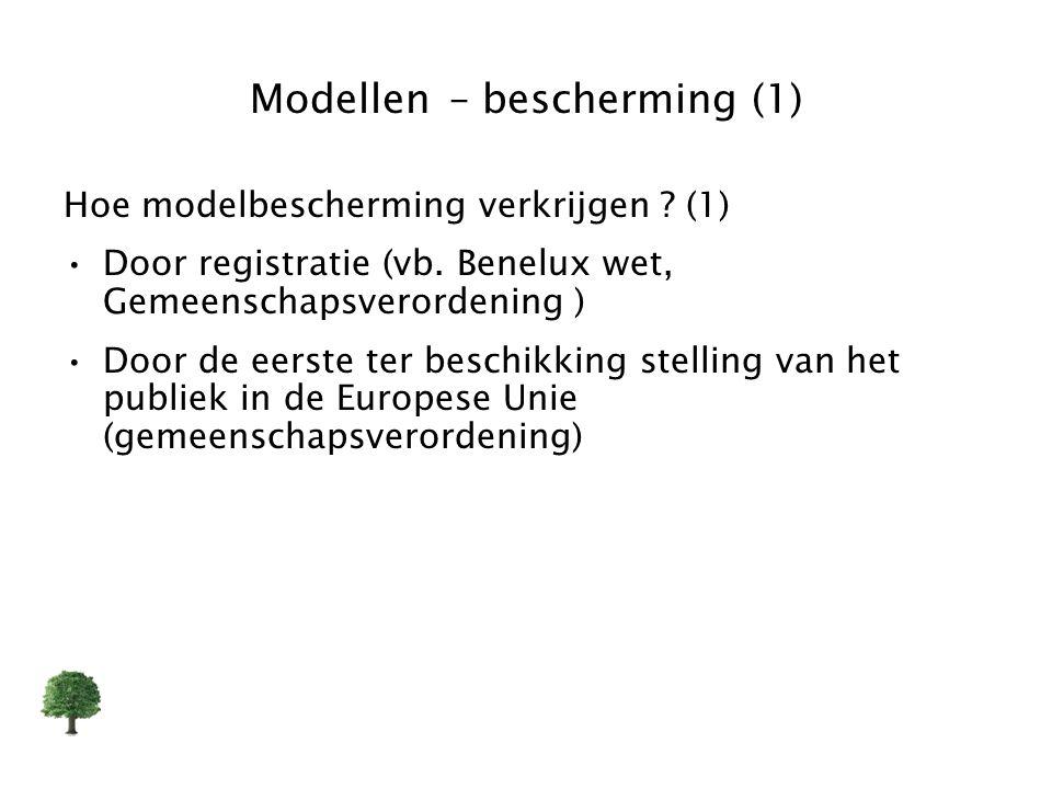 Modellen – bescherming (1)