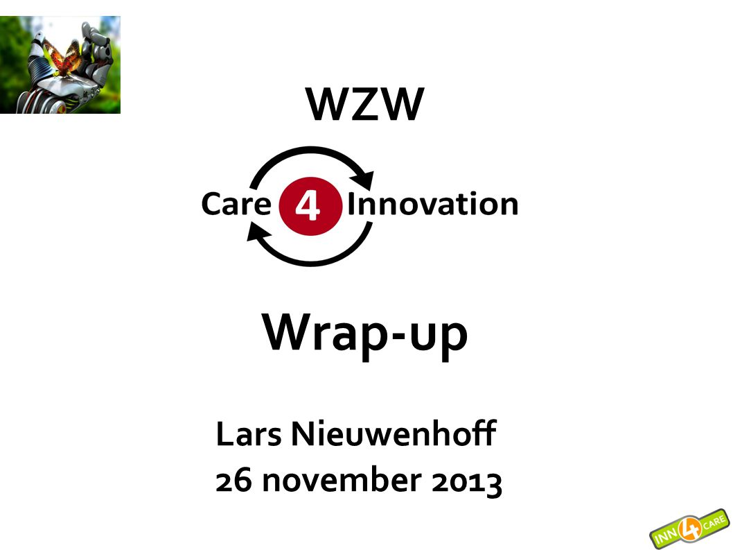WZW Wrap-up Lars Nieuwenhoff 26 november 2013