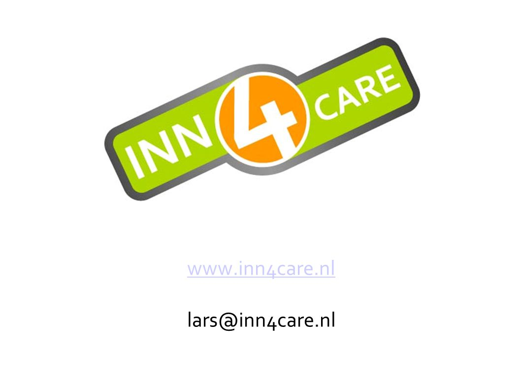 www.inn4care.nl lars@inn4care.nl