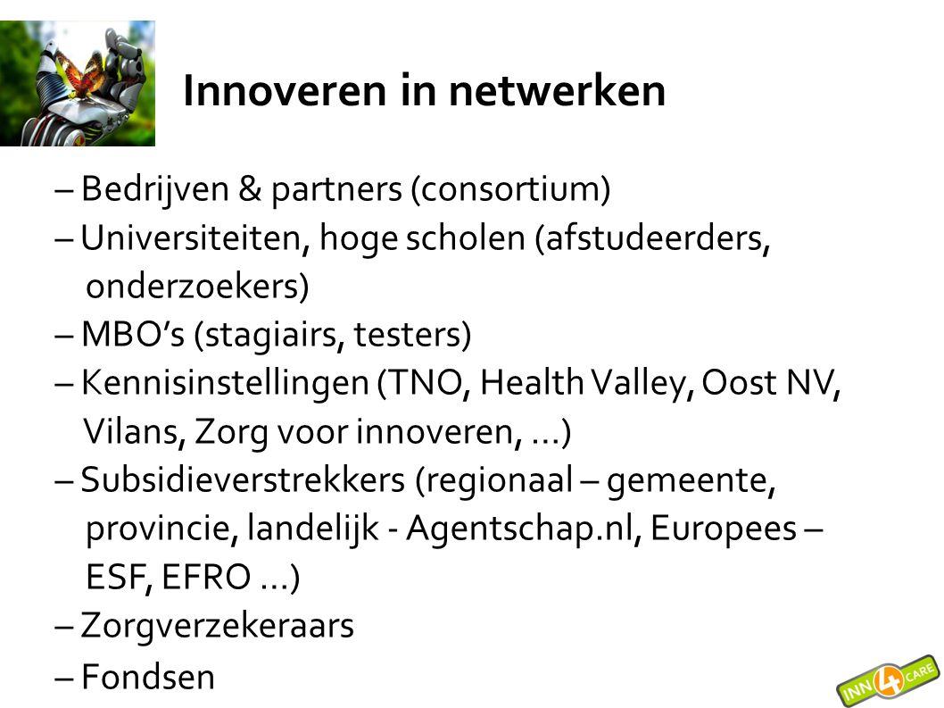 Innoveren in netwerken