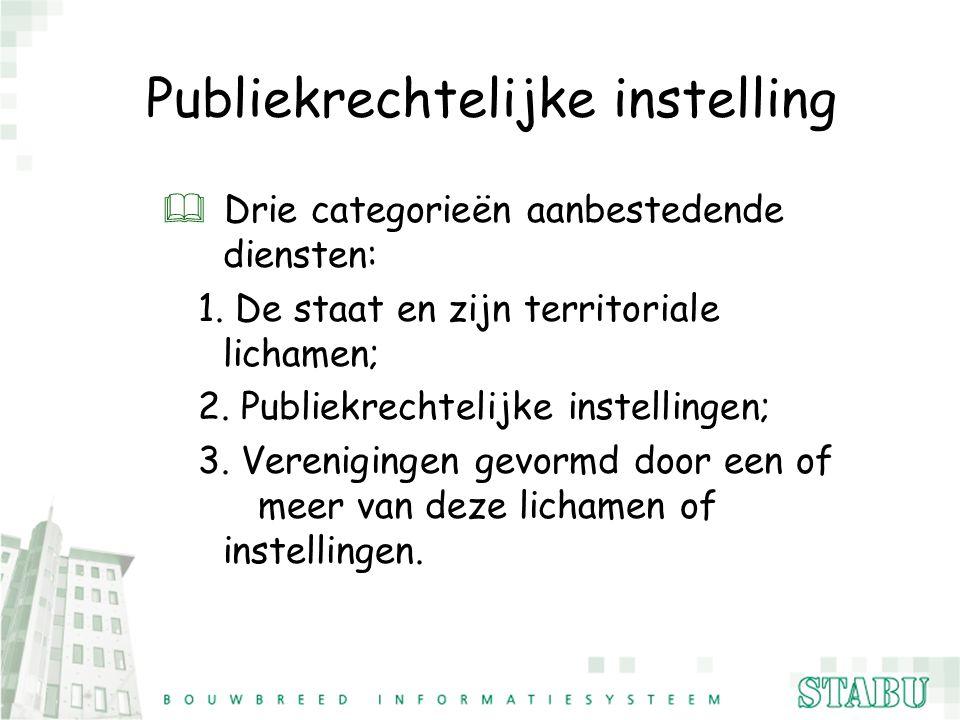 Publiekrechtelijke instelling