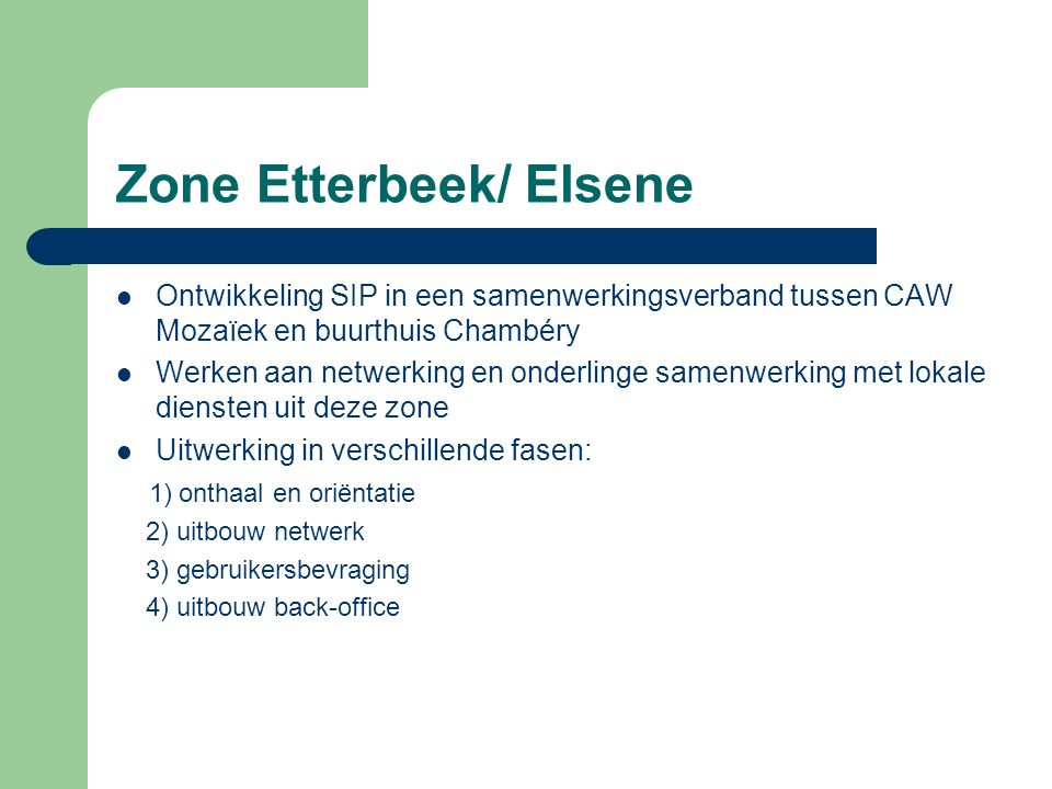 Zone Etterbeek/ Elsene