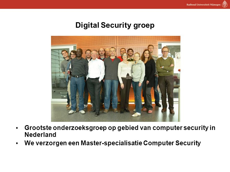 Digital Security groep
