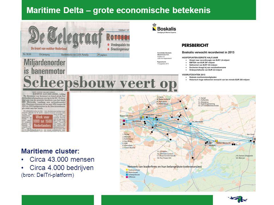 Maritime Delta – grote economische betekenis